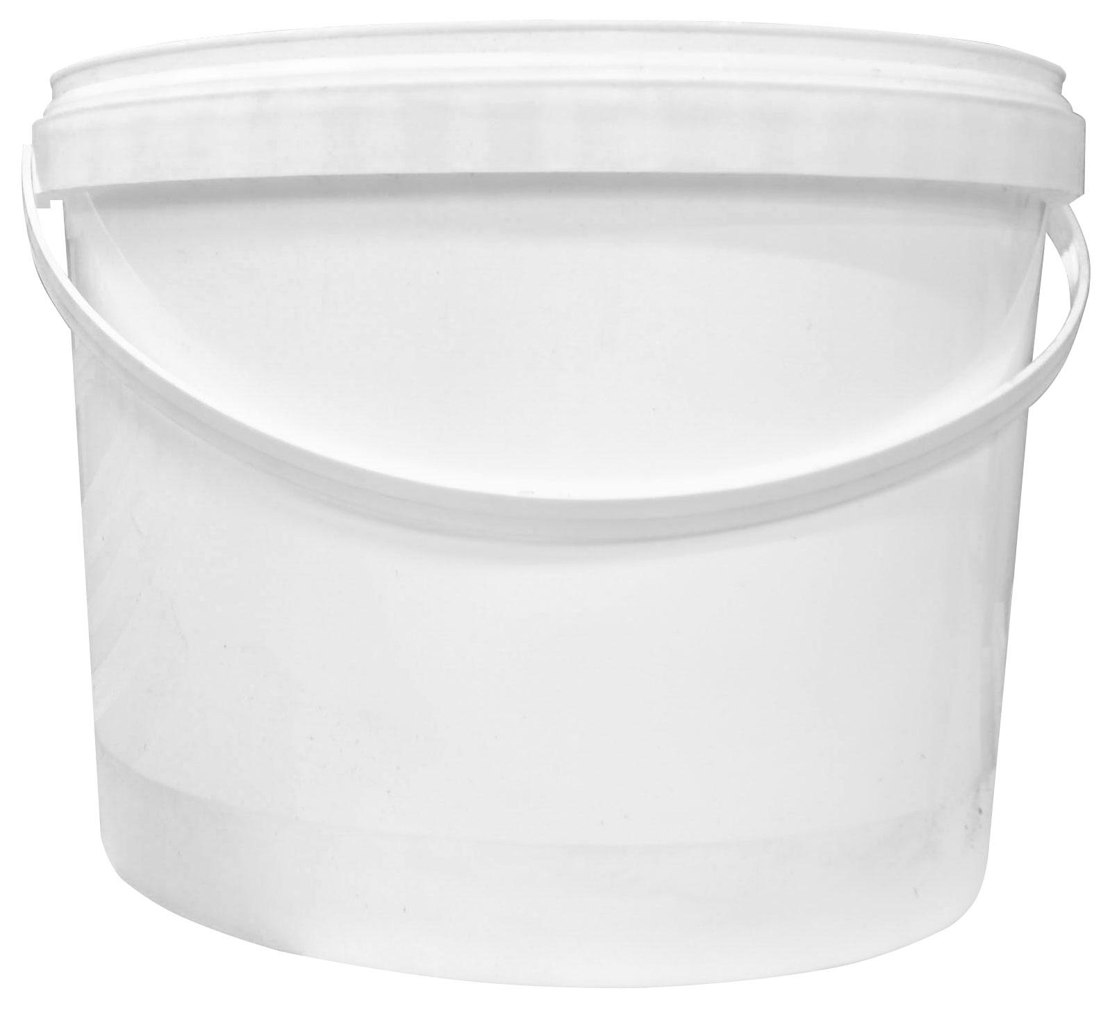 10 Litre White Plastic Tub