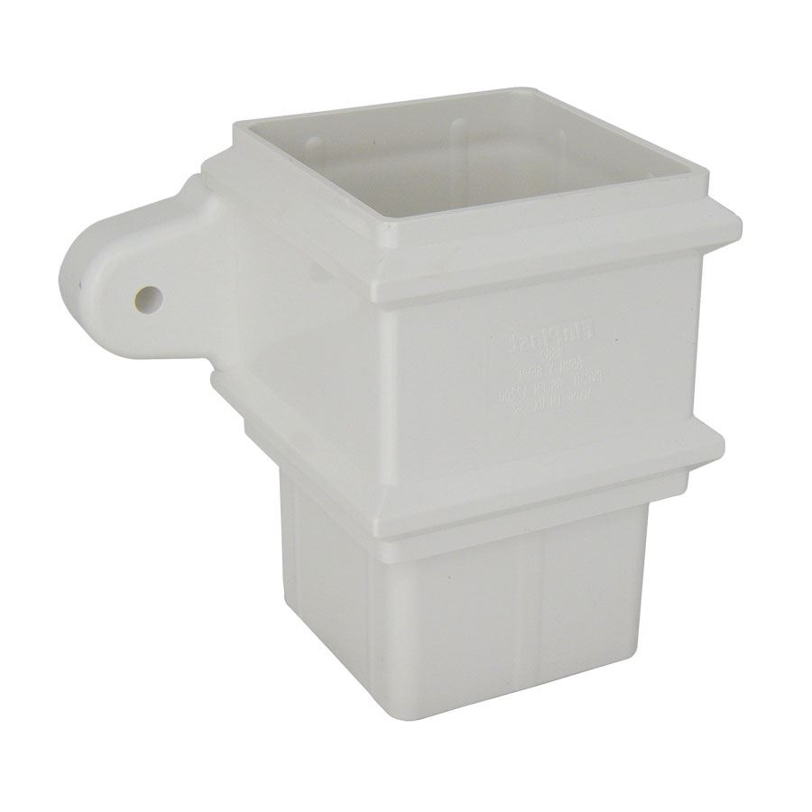 Square Pipe Socket with Fixing Lugs