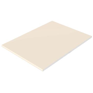 Cream Foil Flat Board