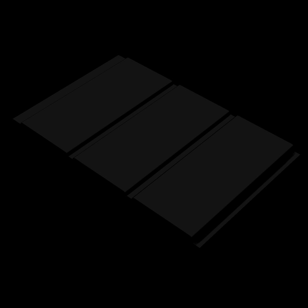 Midnight Black 300mm Soffit