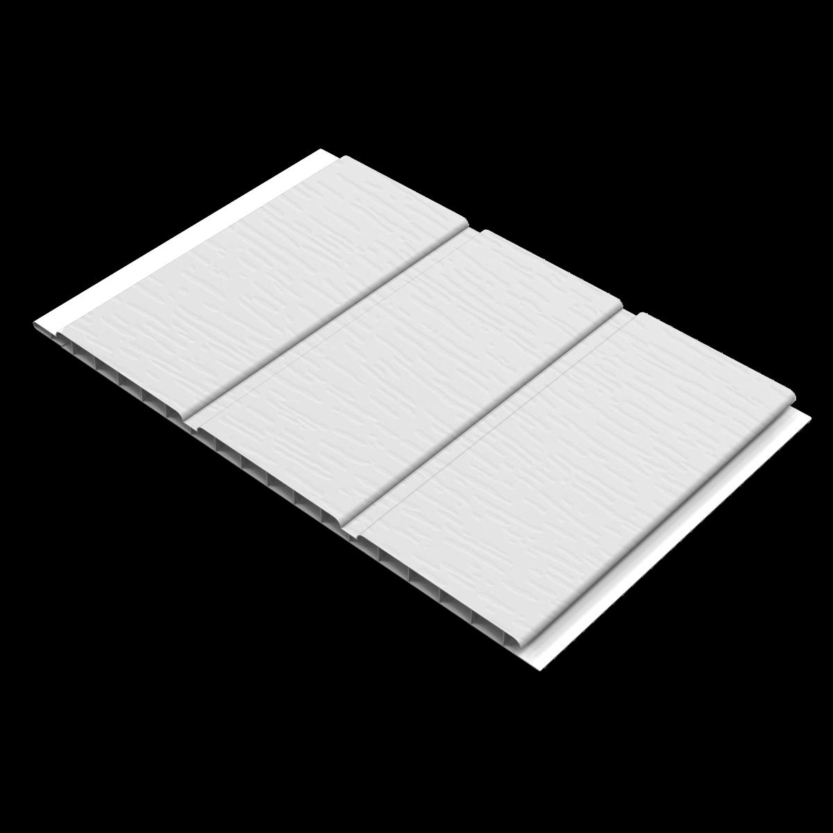 White Foil 300mm Soffit