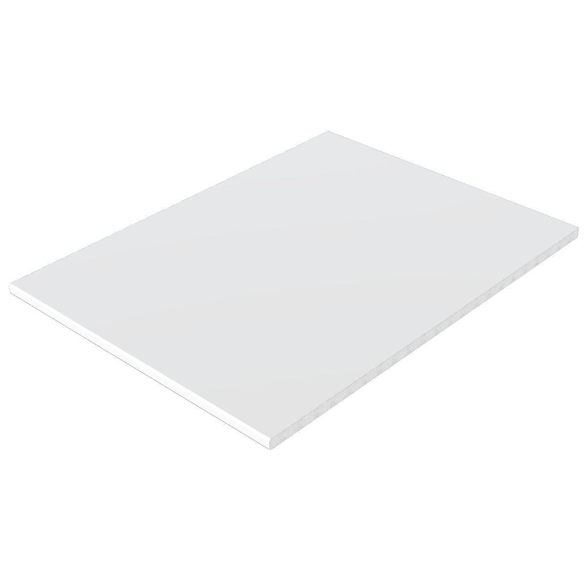 White Foil Flat Board